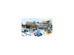 塑料排水板(蜂窝板)生产线