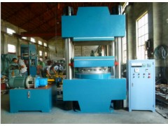 青岛平板硫化机/100吨四立柱式自动硫