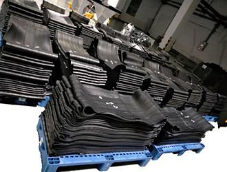 鸿运橡胶混炼密炼胶加工中心正式对外加工